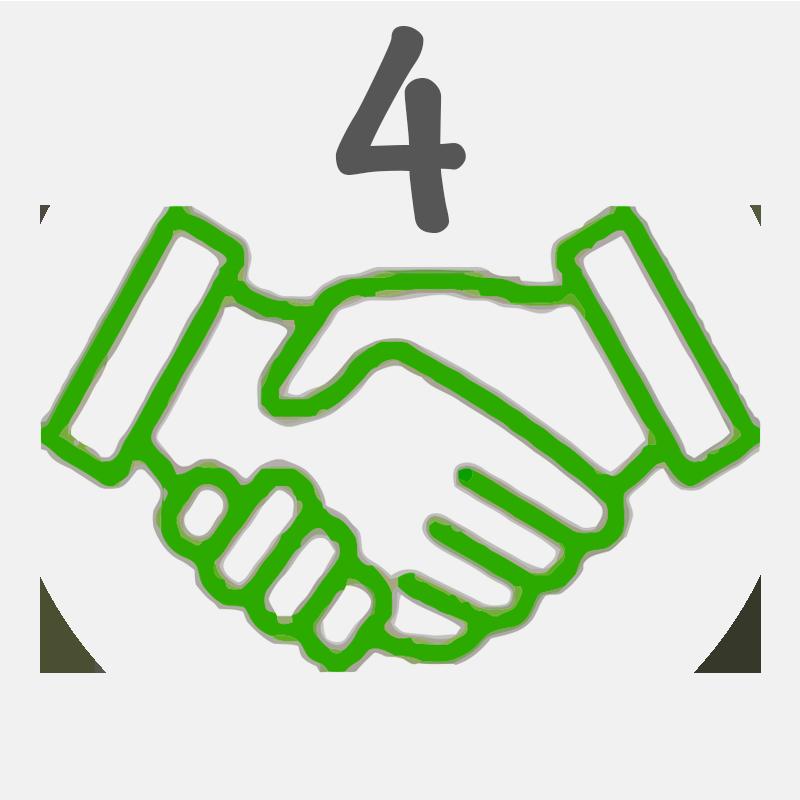 Vier Schritte zur Pflegerin aus Polen - Vertragsabschluss